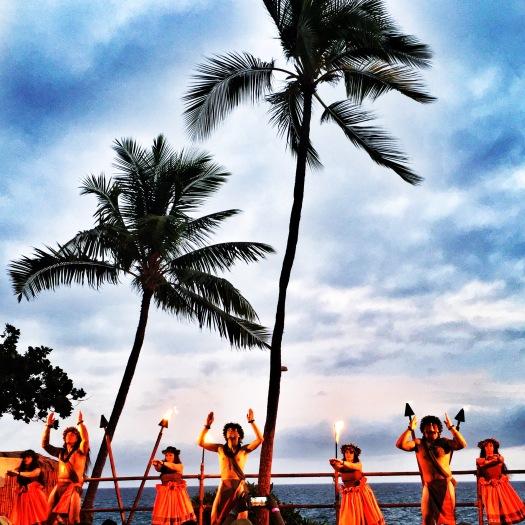 Lu'au at the Royal Kona, Hawai'i