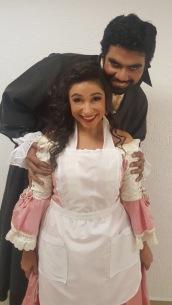 Lisa Algozzini (Susanna) & Oscar Velazquez (Conte) in 'Le nozze di Figaro' at Teatro de la Paz with the Festival de Opera de San Luis in Mexico http://www.lisaalgozzini.com/susanna-2017