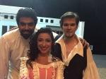 Lisa Algozzini (Susanna), Oscar Velazquez (Conte) & Oliver Pürckhauer (Figaro) in 'Le nozze di Figaro' at Teatro de la Paz with the Festival de Opera de San Luis in Mexico: http://www.lisaalgozzini.com/susanna-2017