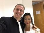 Lisa Algozzini as Susanna & Maestro Linus Lerner in 'Le nozze di Figaro' at Teatro de la Paz with the Festival de Opera de San Luis in Mexico: http://www.lisaalgozzini.com/susanna-2017