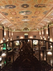 The Palmer House, Hilton, Chicago (17 E Monroe St.)