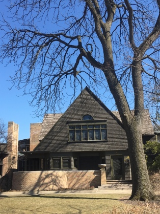 The Frank Lloyd Wright Home and Studio (951 Chicago Ave, Oak Park, IL)